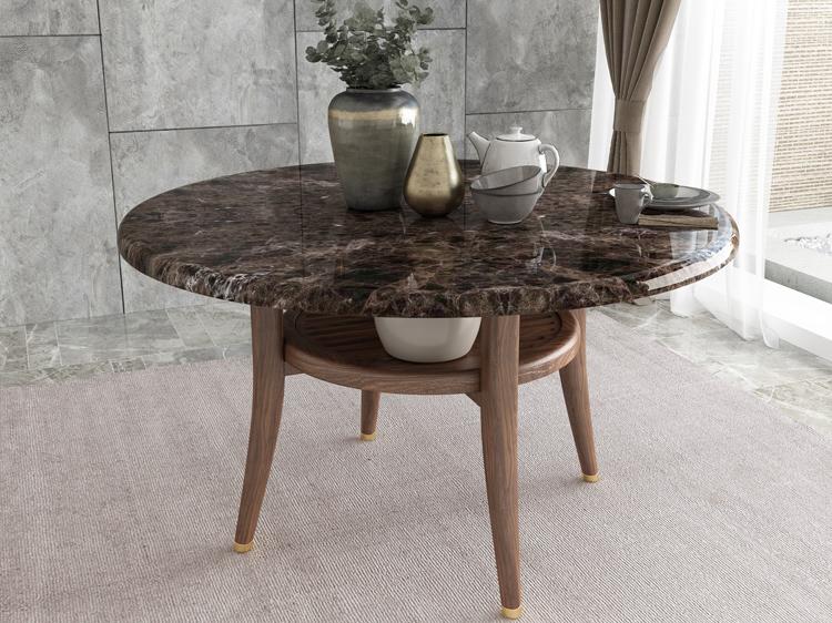 胡桃色餐桌03