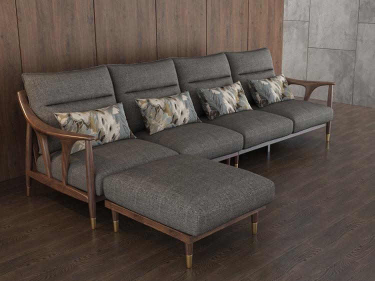 北欧风格轻奢系列沙发12
