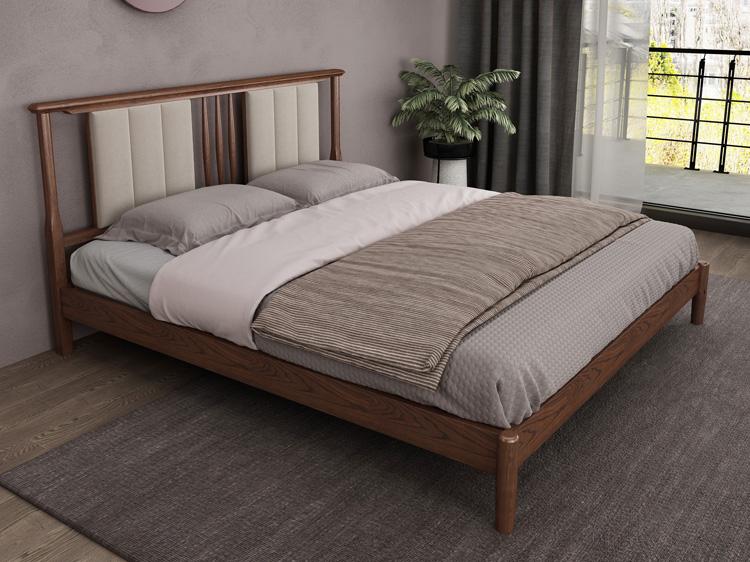 轻奢实木床03