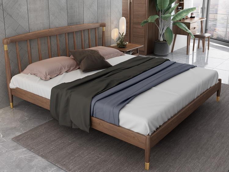 轻奢实木床05