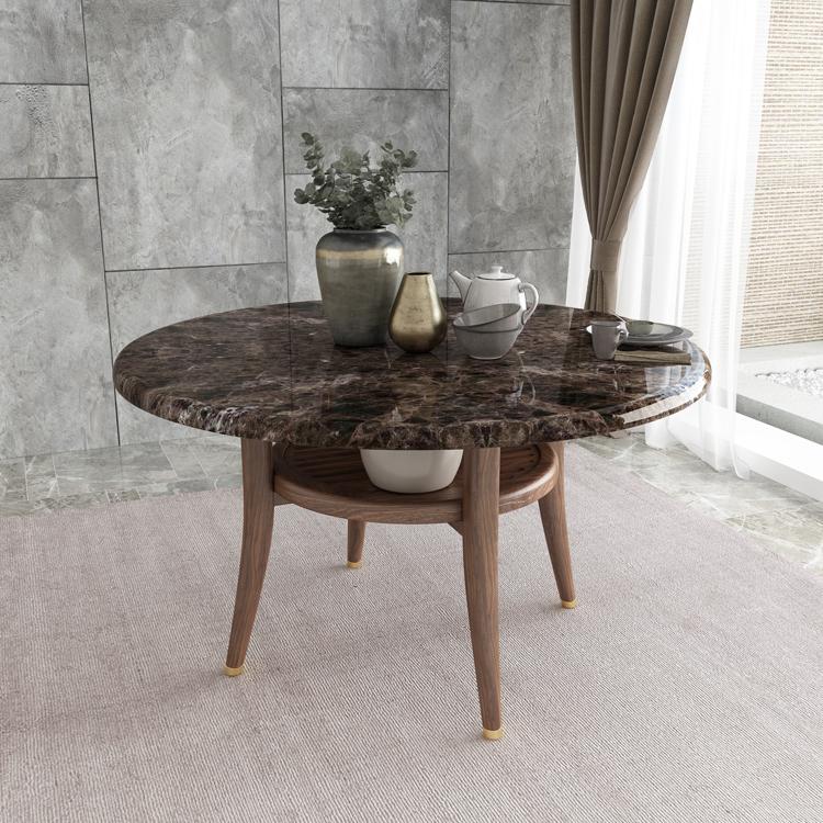 胡桃色餐桌03-1
