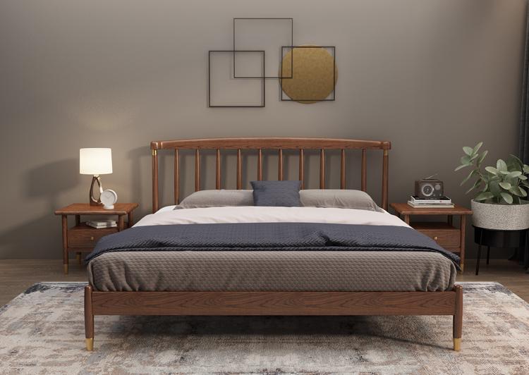 轻奢实木床01-1