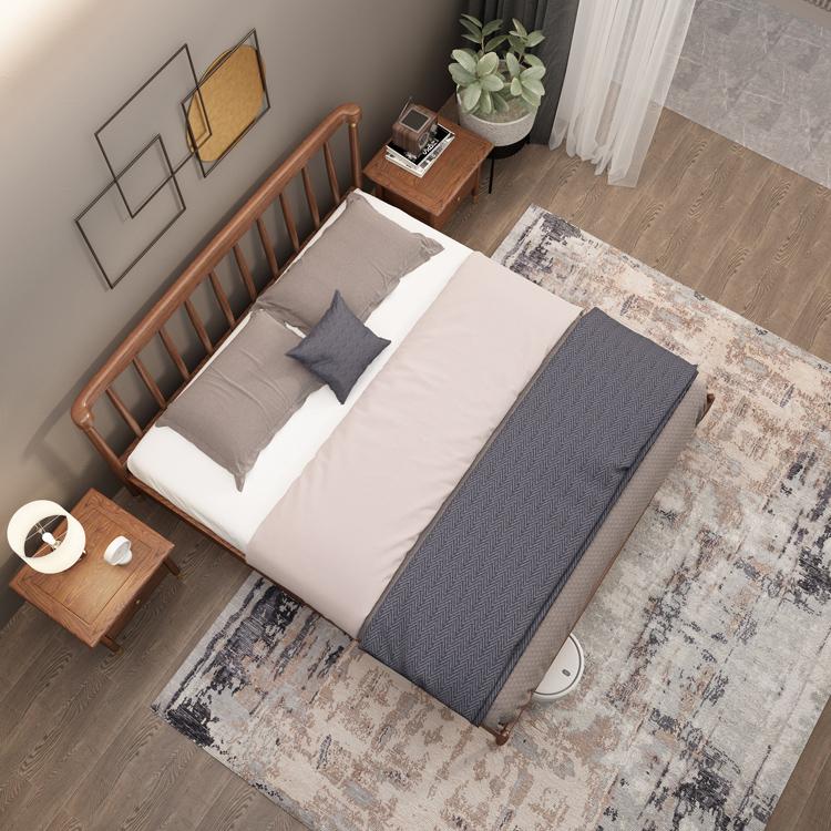 轻奢实木床01-3