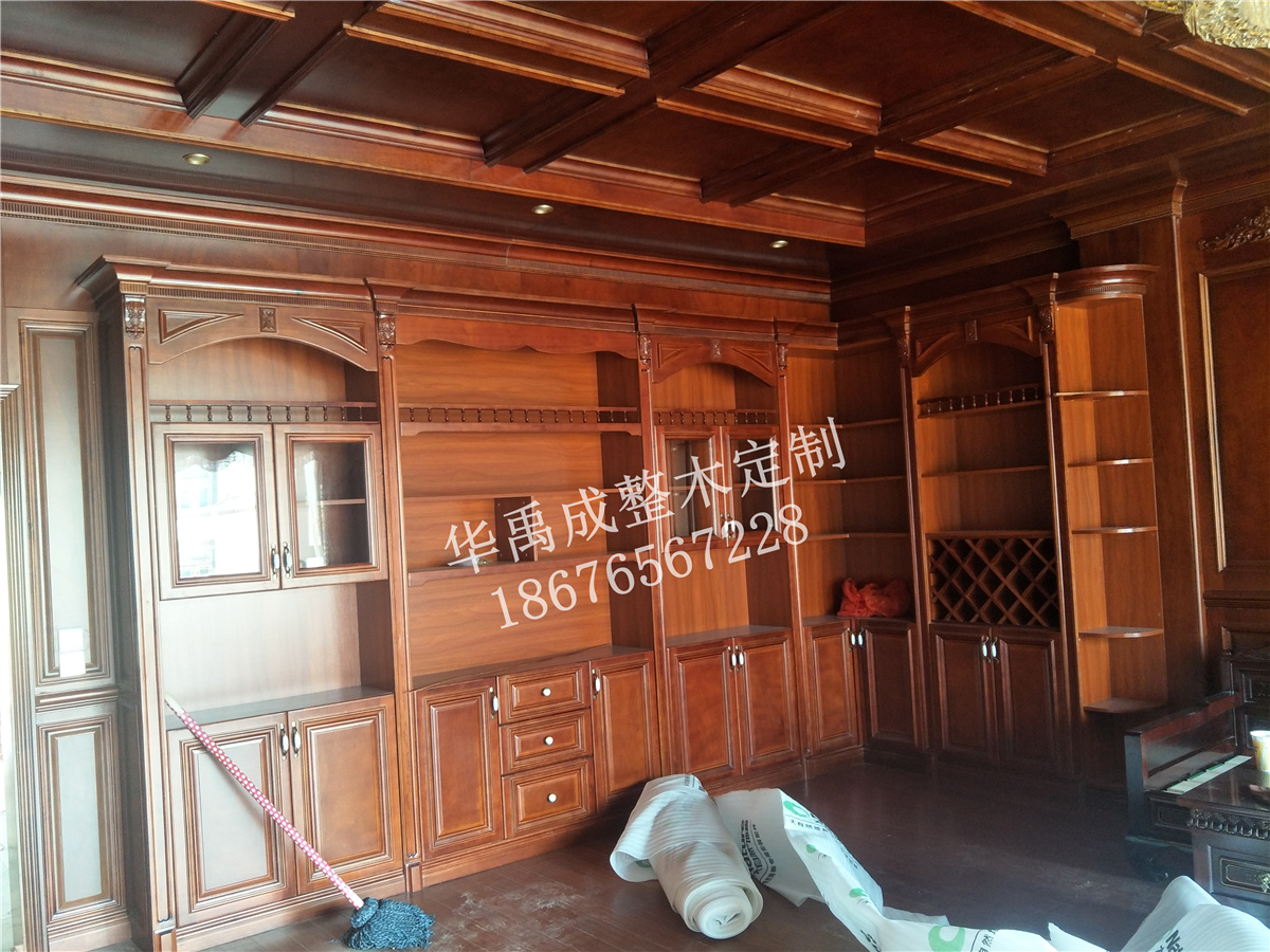 华禹成全屋整木定制客户实拍34
