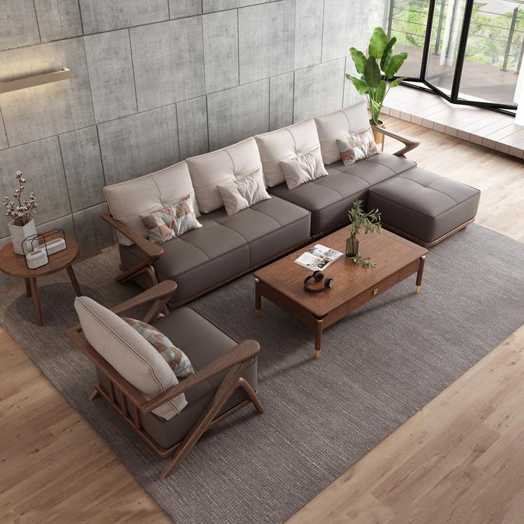 北欧风格轻奢系列沙发茶几组合10-1