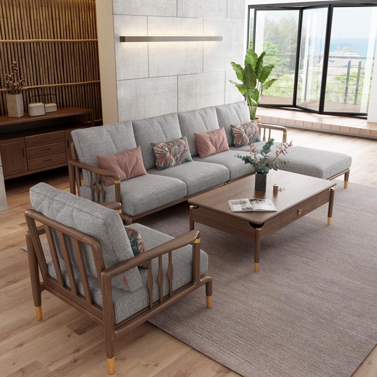 北欧风格轻奢系列沙发茶几组合11-1