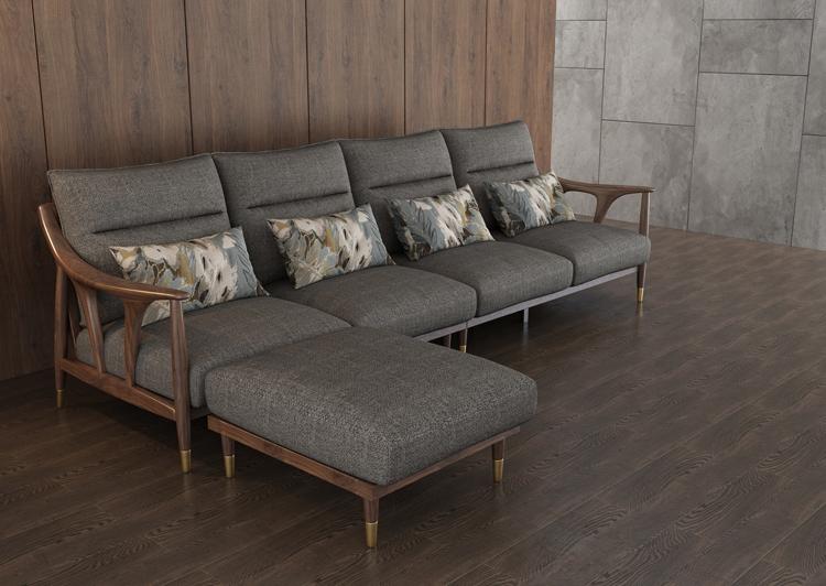 北欧风格轻奢系列沙发12-1