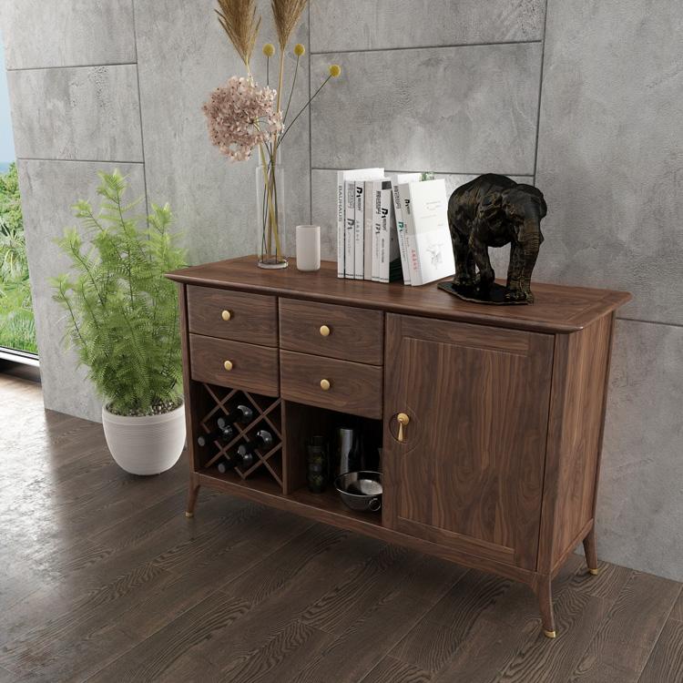轻奢实木储物柜/酒柜01-1