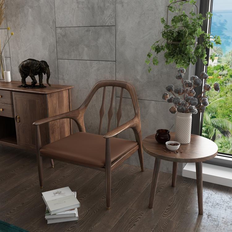 北欧轻奢沙发单椅01-1