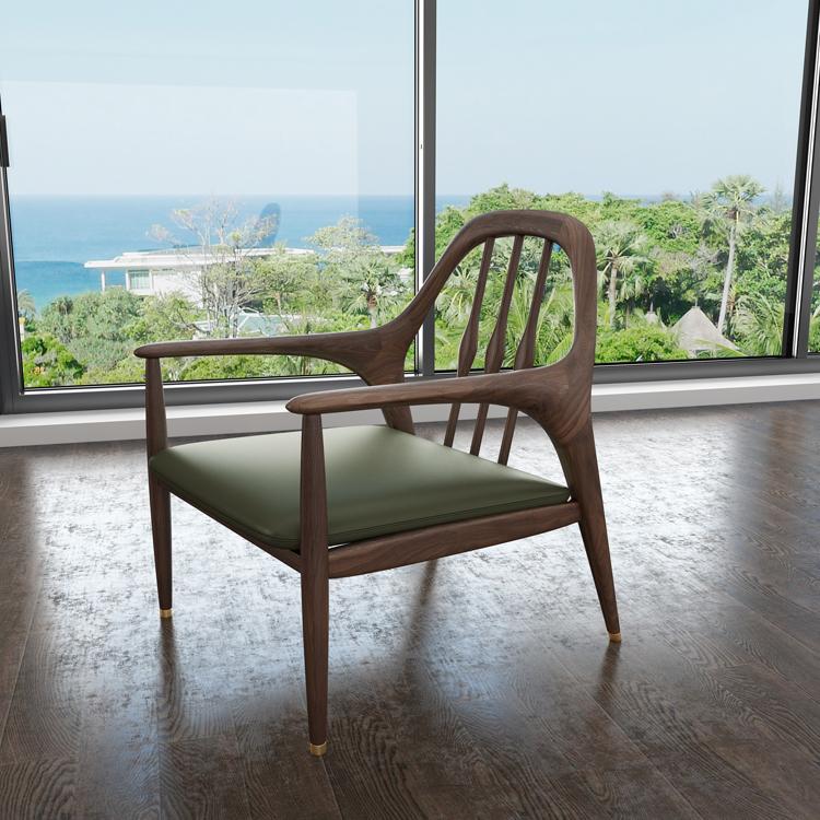 北欧轻奢沙发单椅01-2